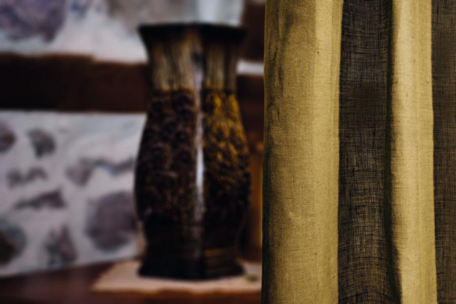 Old Wood Vase In One Rhodope Bulgarian House